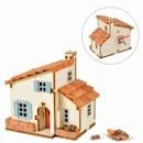 DIY 태엽 오르골 스페인풍 집 만들기