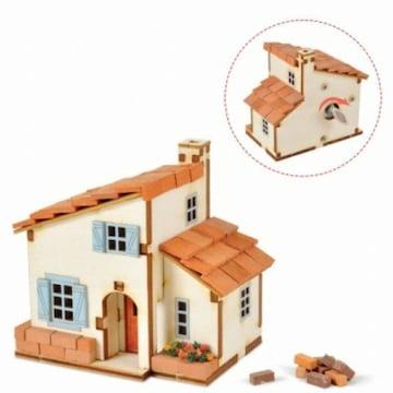 영공방 DIY 태엽 오르골 스페인풍 집 만들기