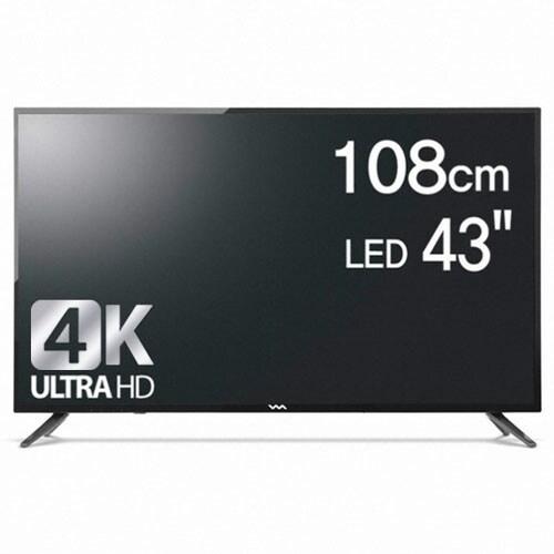 와사비망고 ZEN U430 UHD 스마트 TV HDR (스탠드, 배송)_이미지