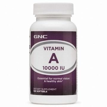 GNC 비타민A 10000IU 100캡슐 (해외)(1개)