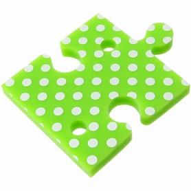 강원전자 NETmate NETmate 퍼즐 이어폰 줄감개 4종 세트 꼬임방지 선 정리기 NMA-LM28 그린