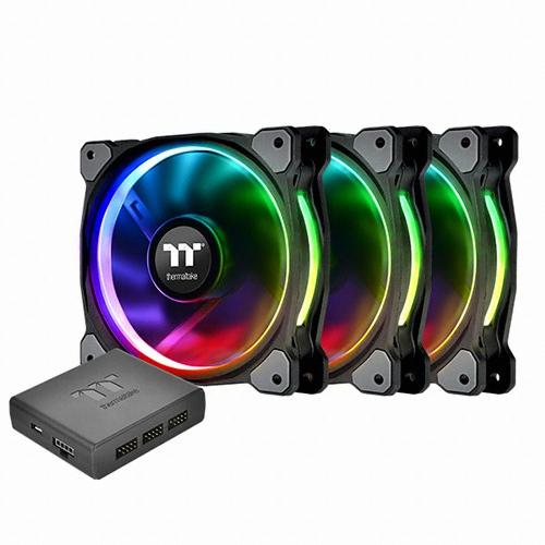 써멀테이크 Riing Plus 12 RGB TT 프리미엄 에디션 (3PACK)