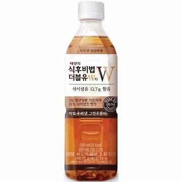 코카콜라음료 태양의 식후비법 더블유W차 500ml(24개)