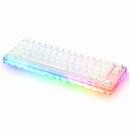 피네스 66키 아크릴 RGB 게이트론 퀵스왑 키보드