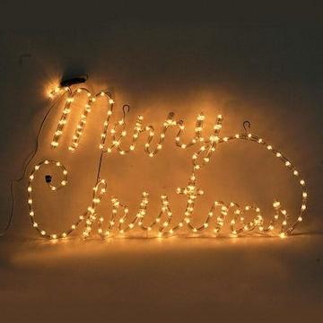 LED 논네온 메리크리스마스 글자 조명