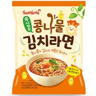 삼양식품 콩나물 김치 라면 115g (1개)_이미지