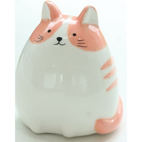 베가 동글이 고양이 도자기 저금통_이미지