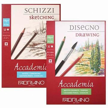 파브리아노 아카데미아 스케치북 120g 제본형
