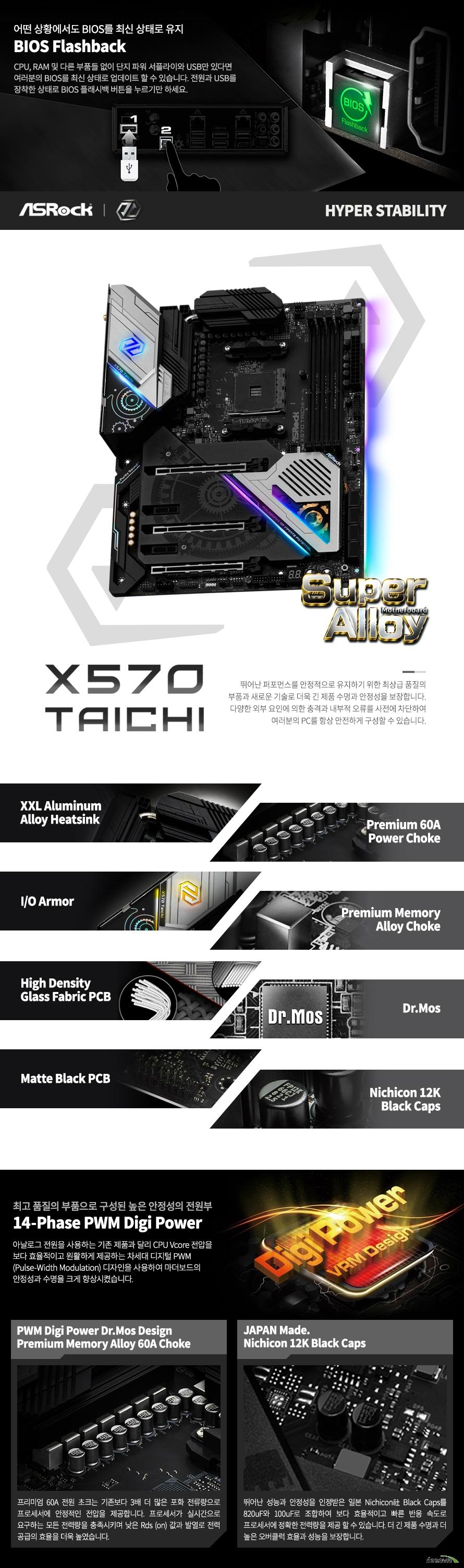 ASRock X570 Taichi 에즈윈