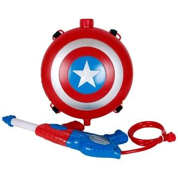 릴팡 마블 캡틴아메리카 배낭물총