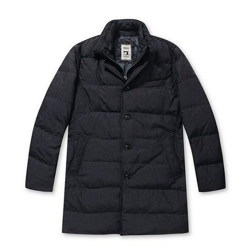 코오롱인더스트리 스파소 프린트 퀼팅 구스다운 코트 SPCCW16573NYX_이미지