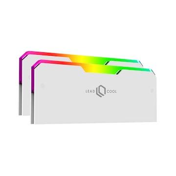 LEADCOOL RH-1 EVO ARGB 메모리 방열판 화이트