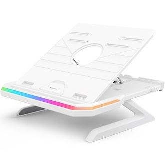 BRAVOTEC EQUALE AP-9002 RGB 노트북 받침대_이미지