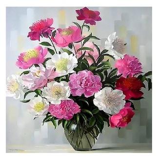 피포페인팅 DIY 명화그림그리기 Q3351 꽃정물화_이미지