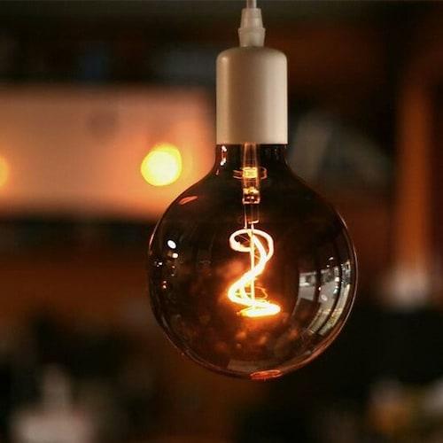 룩스램 LED G95 뉴필터 에디슨전구 전구색 4W_이미지