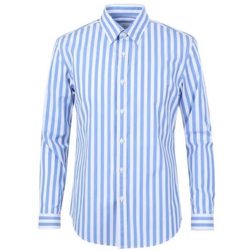 신성통상 지오지아 런던 스트라이프 셔츠 ABY1WC1107LBL_이미지