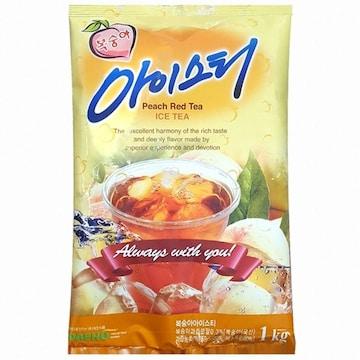 대호식품 복숭아 아이스티 1kg(1개)