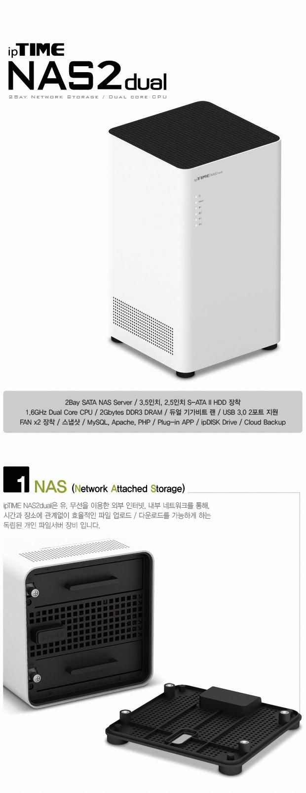EFM ipTIME NAS2dual (36TB)