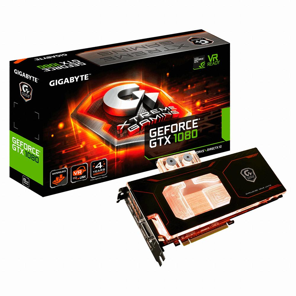 GIGABYTE 지포스 GTX1080 Xtreme D5X 8GB 워터블럭
