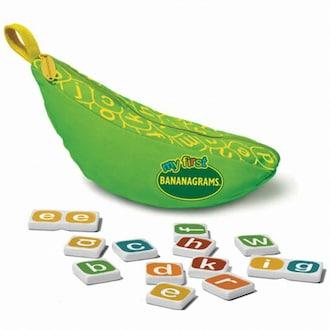 생각투자 초록 바나나그램스 소문자 영어 알파벳 보드게임_이미지