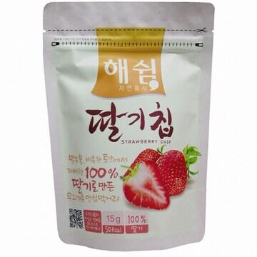 굿푸드 해쉼 딸기칩 14g(1개)