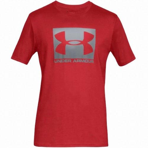 언더아머  박스드 스포츠스타일 반팔 티셔츠 1329581-600_이미지