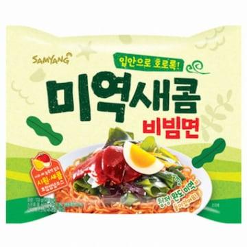 삼양식품 미역새콤비빔면 133g(20개)