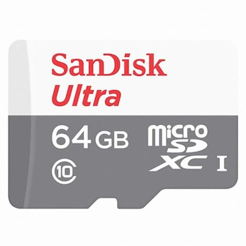 Sandisk  micro SDXC CLASS10 UHS-I Ultra 80MB/s (64GB)