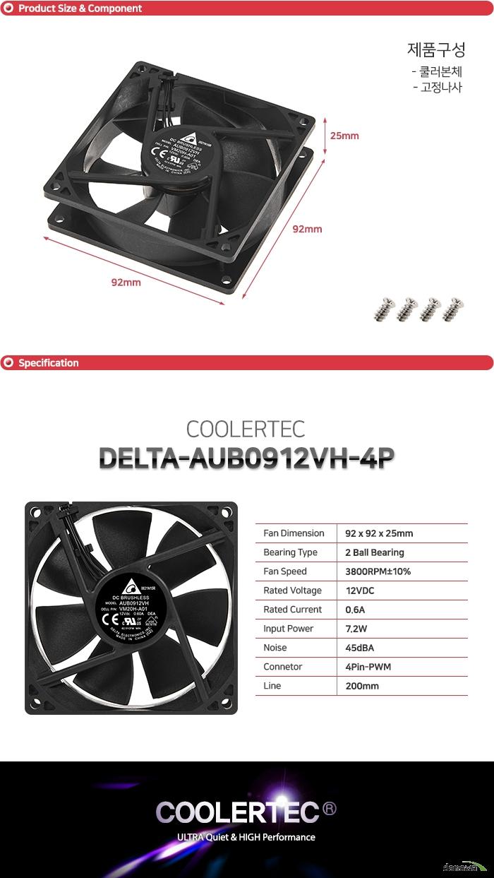 델타 AUB0912VH-4P