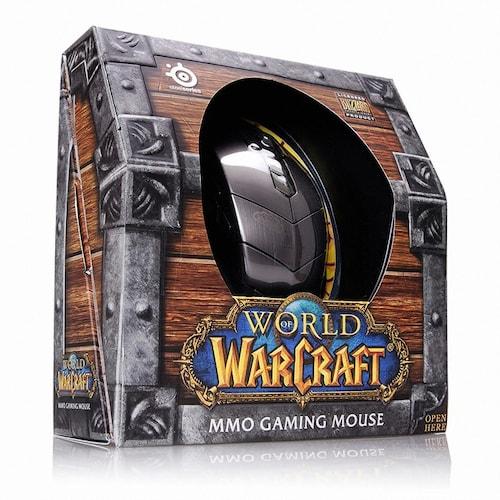스틸시리즈  WoW MMO Gaming Mouse 유니셀_이미지