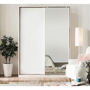 에넥스 ENNEE 데이 거울 슬라이딩 옷장(180cm)