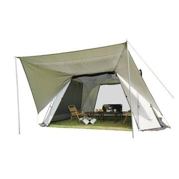 비달리도 마키노 리빙쉘 화목난로 텐트 해외구매