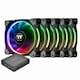 써멀테이크  Riing Plus 12 RGB TT 프리미엄 에디션 (5PACK)_이미지_0