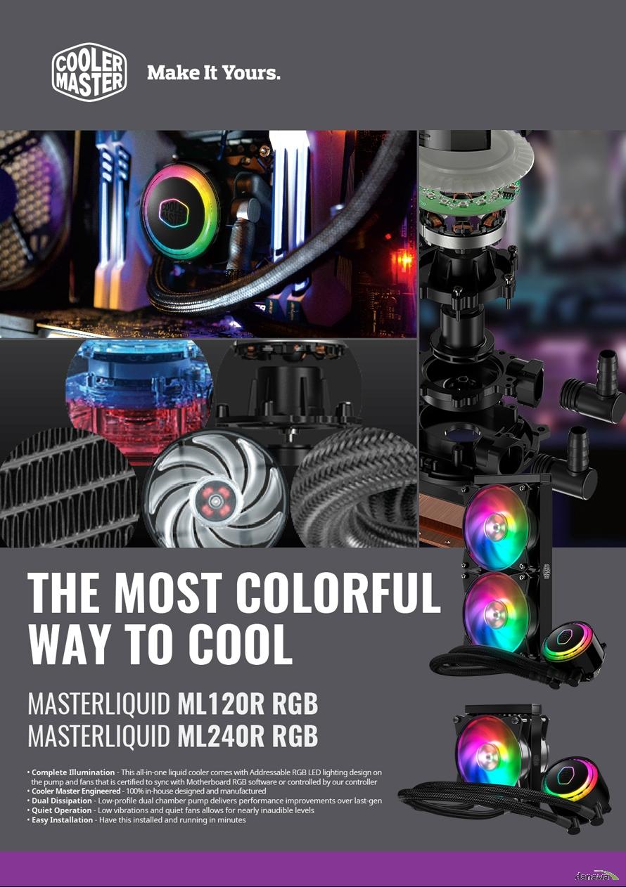 쿨러마스터 MASTERLIQUID ML240R RGB 컨트롤러 - 11STREET