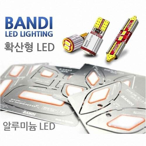 반디  LED 면발광 실내등 풀세트 더뉴카니발 일반형(모든연식)_이미지