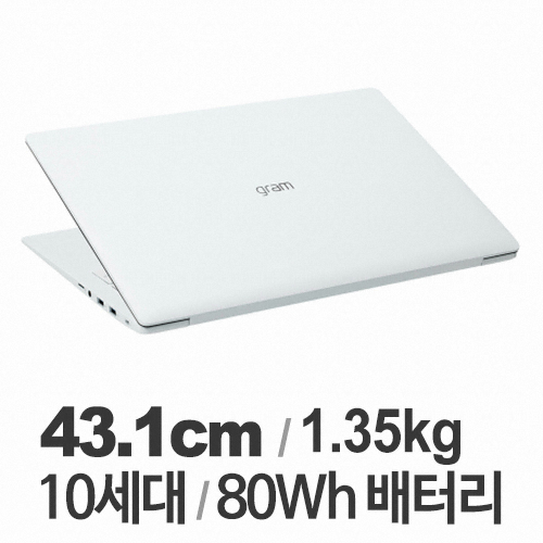 LG전자 2020 그램17 17ZD90N-VX50K WIN10 (SSD 256GB)