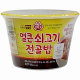 오뚜기 맛있는 오뚜기 컵밥 얼큰 쇠고기전골밥 290g  (1개)