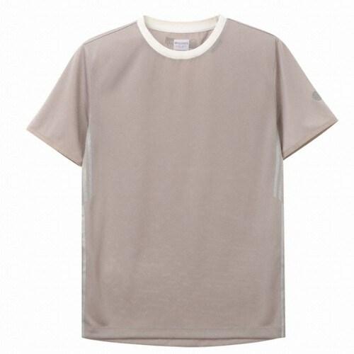 디스커버리익스페디션  막대웰딩 포인트 라운드 티셔츠 (DMRT59831-BG, 베이지)_이미지
