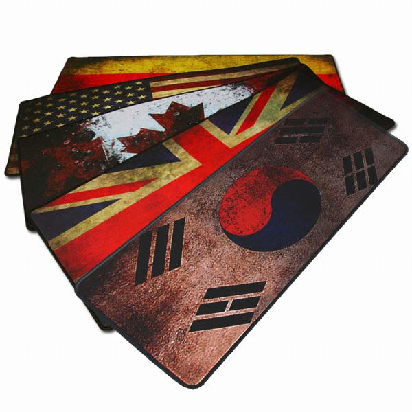 AONE CRUISE GP-785 빈티지 국기 게이밍 장패드 (영국)
