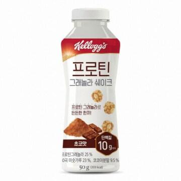 켈로그  프로틴 그래놀라 쉐이크 초코맛 50g (12개)