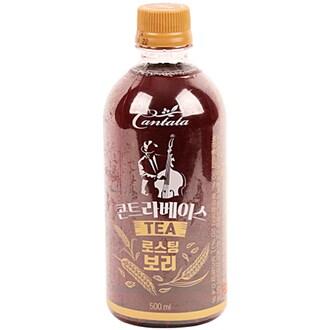 롯데칠성음료 칸타타 콘트라베이스 로스팅 보리 500ml (12개)_이미지