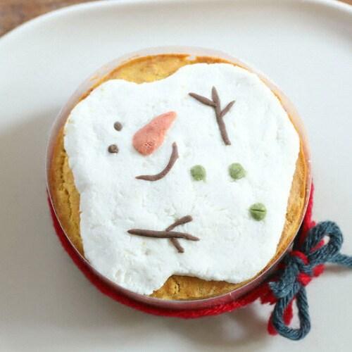 그냥점례 그냥, 점례 멜팅스노우맨 케이크 (1개)_이미지
