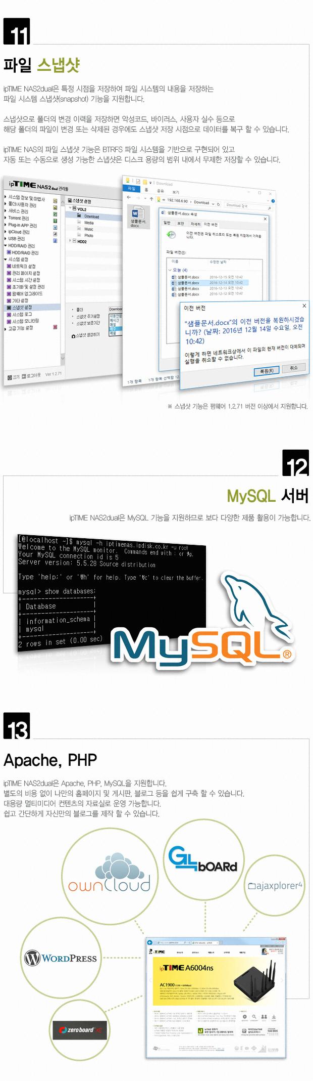 EFM ipTIME NAS2dual (28TB)