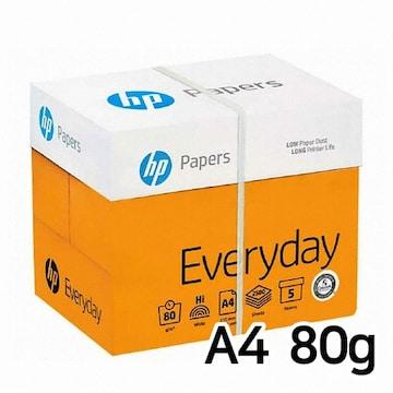 HP 에브리데이 복사용지 A4 80g 500매 (5개, 2500매)
