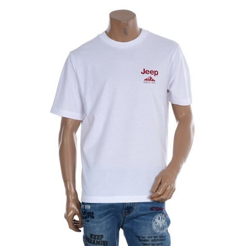JEEP 작은 슬로건 반팔 티셔츠 GL2TSU302_이미지