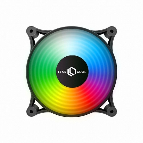 LEADCOOL 120 RGB 레인보우 BLACK (1PACK)