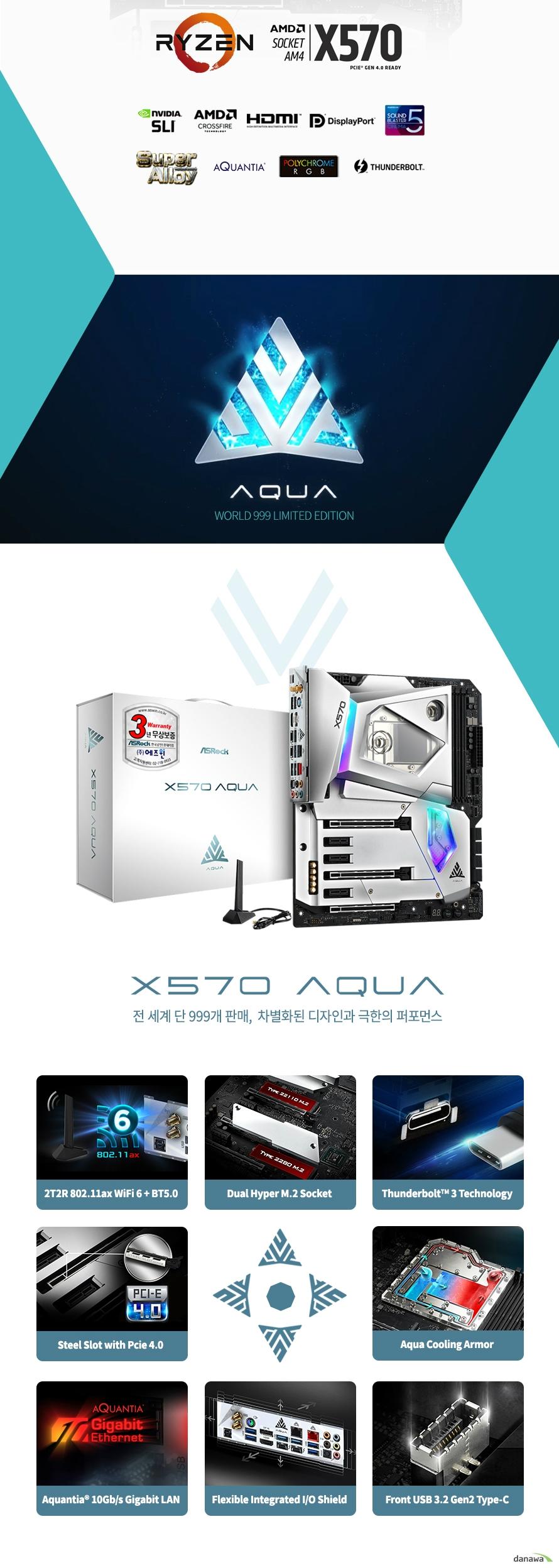 ASRock  X570 AQUA 에즈윈