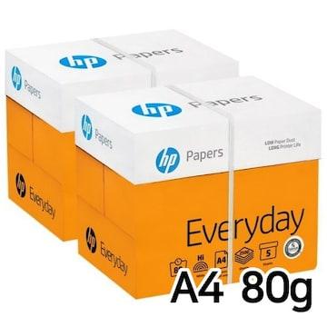 HP 에브리데이 복사용지 A4 80g 500매 (10개, 5000매)
