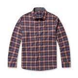 코오롱인더스트리 스파소 슬림 타탄 체크 코튼 셔츠 SPSAA17574ORX_이미지