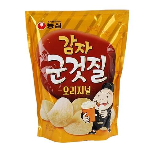농심  감자 군것질 오리지널 70g (3개)_이미지